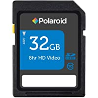 Polaroid 32 GB SDHC Flash Memory Card P-SDHC32G10-EFPOL