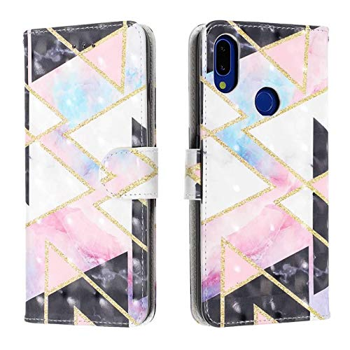 (Case for Huawei Nova 3i Back, Wallet, Card Package ,Shock Absorber Bumper Cover, Scratch-Resistant Back,Pattern )