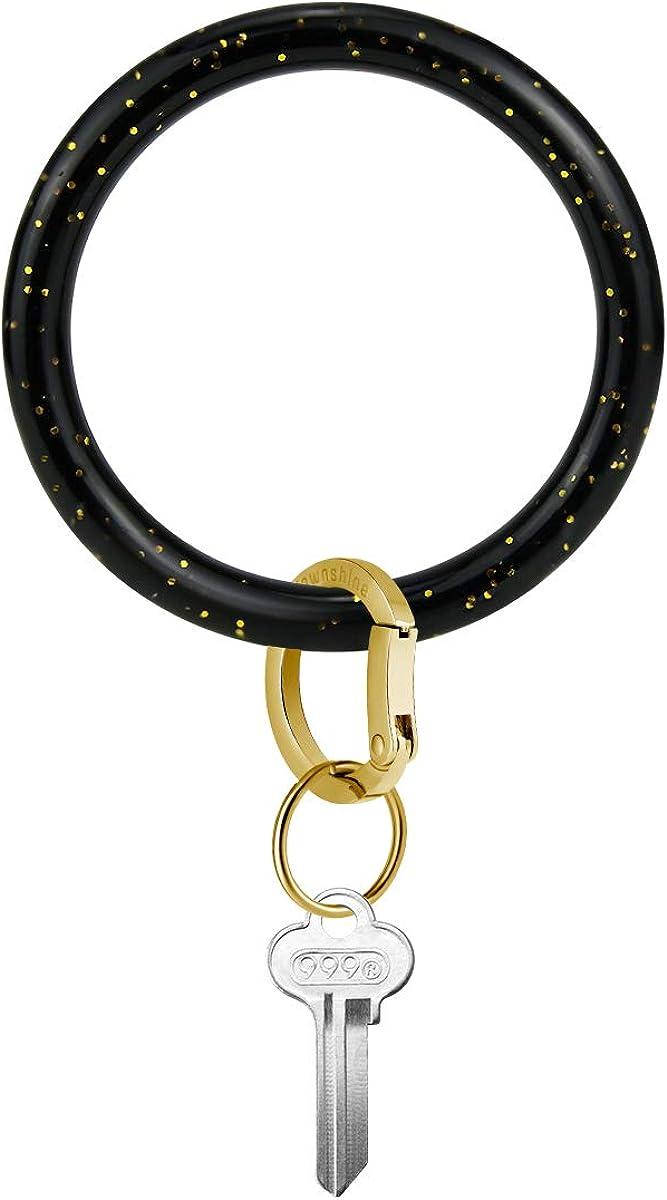 Black White Squares Key Ring Home Key Chain Car Key Holder Bracelet Cord