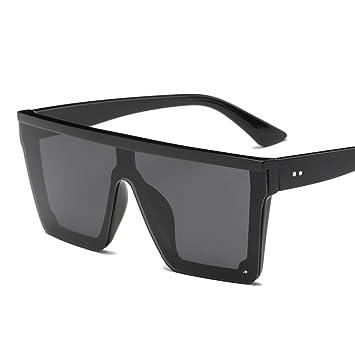 2THTHT2 Gafas De Sol para Hombre con Gafas De Sol Planas ...