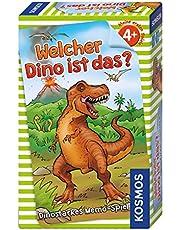Welcher Dino ist das?: Dinostarkes Memospiel für 2 – 4 Spieler ab 4 Jahren