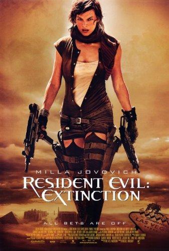 Resident Evil: Extinction - Milla Jovovoich Movie Poster ...