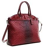 MMK Collection Fashion Packlock Handbag(7103) ~ Signature fashion Designer Purse~ Perfect & Women Satchel Purse(7103) (2591-160970BB)