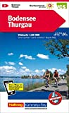 Bodensee, Thurgau Velokarte Nr. 2: 1:60 000, waterproof, Free Map on Smartphone included (Kümmerly+Frey Velokarten)