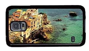 Hipster silicone Samsung Galaxy S5 Cases sa penya ibiza spain PC Black for Samsung S5