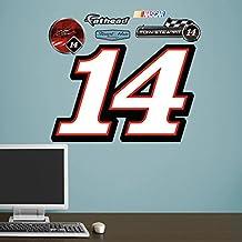 Fathead 36-36023 Wall Decal, Tony Stewart No.14 Logo Junior