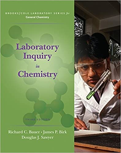 Laboratory inquiry in chemistry brooks cole laboratory series laboratory inquiry in chemistry brooks cole laboratory series for general chemistry 3rd edition fandeluxe Images