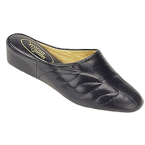 Ladies Womens Menorca Slipper Slippers Black Mahon Cincasa UBPqp7