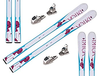 36a9f8382f4ed2 Völkl Chica '15 Ski Set with Marker M7.0 EPS Binding 130-160 cm Size ...