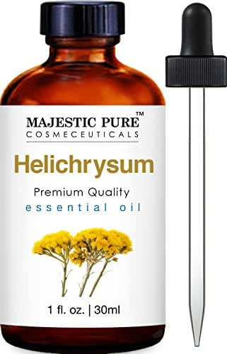 Majestic Pure Helichrysum Essential Oi, 1 Fluid Ounce