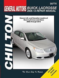 amazon com haynes repair manual for 2005 thru 2013 buick lacrosse rh amazon com 2006 Buick Lacrosse Custom 2014 Buick Lacrosse Interior
