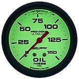 Auto Meter 4223 Ultra-Nite Oil Pressure Gauge
