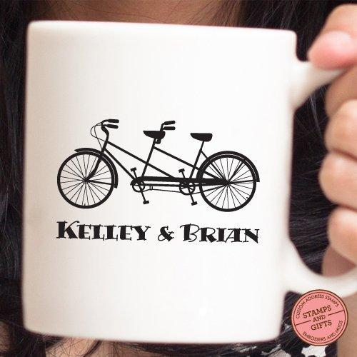 Custom Personalized Mug, Bicycle Mug, Quote Mug for travelers, Quote Mug for cyclers, Christmas Gift, Wedding Gift, Coffee Gift for Bike Lover, ...