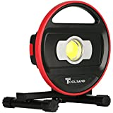 Toolsand High Power Portable Cordless Rechargeable LED Worklight Floodlight (1200 Lumens)