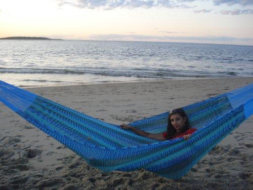 Breezy Point Mayan Mexican Jumbo Hammock