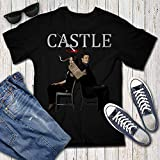 Castle Kate Character Series Beckett Police Crime Fans Customized Handmade T-Shirt Hoodie/Long Sleeve/Tank Top/Sweatshirt