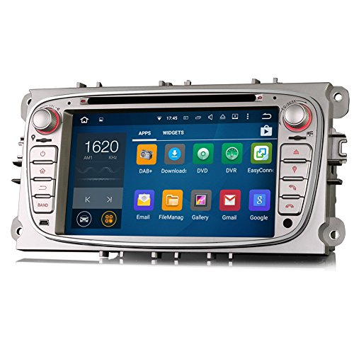 Erisin 7 Inch Car Stereo Android 5 1 Lollipop Car Radio with Sat Nav