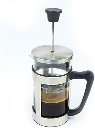 Rotix Cafetera de émbolo para 6 Tazas, 1,0 litros, Francés de Prensa Café, Marco de Acero Inoxidable y Tapa: Amazon.es: Hogar
