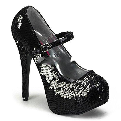 Bordello - Zapatos de vestir para mujer negro Schwarz