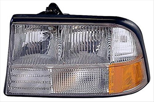 Partslink GM2502174 OE Replacement Headlight Assembly GMC S15 JIMMY 1998-2004 Multiple Manufacturers GM2502174N