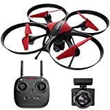 Force1 U49C Drone with Camera for Beginners – HD Beginner Drone Quadcopter w/ Altitude Hold, 15-min Long Flight Time & Extra Battery - 720P RC Camera Drones for Kids and Adults