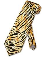TIGER Animal Skin Print Design 100% SILK Neck Tie Men's NeckTie
