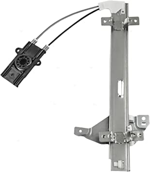 Replacement Passenger Rear Power Window Regulator without Motor Compatible with Century Regal Intrigue 10334398