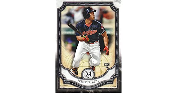 2018 Topps Museum Collection Baseball #96 Francisco Mejia RC Cleveland Indians