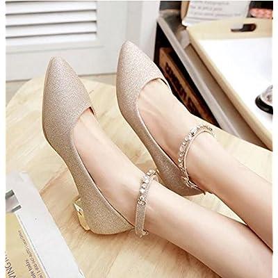 BBSLT-Avec Lady Shoes À Fond Plat Peu Profond Lady Shoes Chaussures Basses Avec Le Mariage À Fente Tip Chaussures Unique
