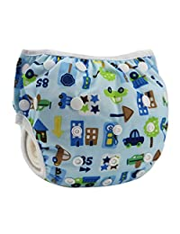 centtechi Baby Swim Diaper, Adjustable Reusable Pool Pants Cloth Nappy