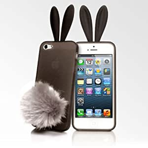 Rabito Bunny Ears iPhone 5 Cases - Translucent Black
