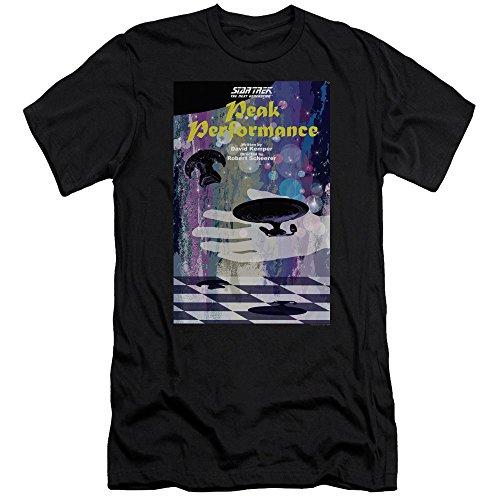 Star Trek: The Next Generation Peak Performance Juan Ortiz Poster Unisex Adult Canvas Brand T Shirt For Men and Women