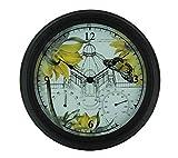 Exhart NYBG Botanical Garden Design Clock, Thermometer And Hygrometer