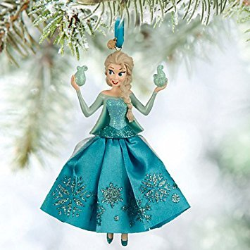 disneys frozen elsa sketchbook christmas tree ornament - Elsa Christmas Decoration