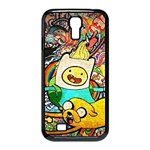 Hjqi - Custom Jake and Finn Adventure Time Phone Case, Jake and Finn Adventure Time Customized Case for SamSung Galaxy S4 I9500