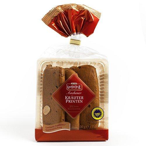 Lambertz Aachener Krauter-Printen - Gingerbread Cookies (7.05 ounce)