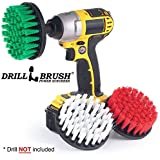 Cordless Drill Powered Cleaning Rotary Electric Brush Kit for Tile and Grout, Tub, Shower, Sink, Porcelain