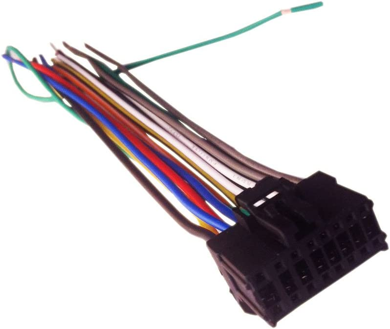 Amazon.com: 16 Pin Auto Stereo Wiring Harness Plug for PIONEER AVH-X4600BT:  Everything Else