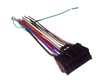 Amazon.com: 16 Pin Auto Stereo Wiring Harness Plug for PIONEER AVH