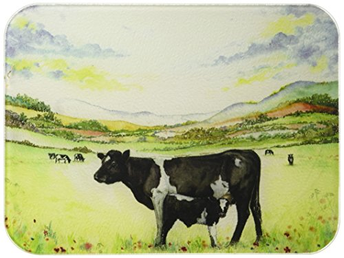 Tuftop McGowan Cow & Calf Cutting Board, Multicolored