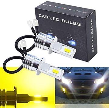 SCITOO H3 LED Light Bulbs Super Bright 24SMD LED Bulbs for Fog Lights,4Pcs