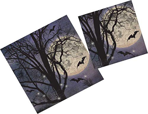 Halloween Luncheon and Beverage Napkins. 32 ct (Spooky ()
