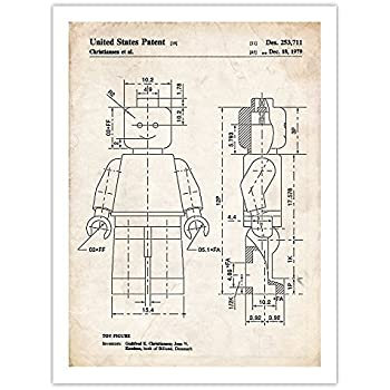 Building Blocks Patent Print