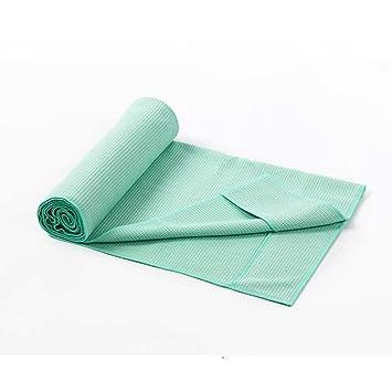 Luckyin Microfibra Antideslizante Toalla de Yoga Súper ...