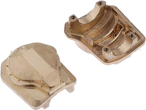 IPOTCH Cubierta Diferencial Caja De Cambios para Traxxas -4 RC Crawler Car Accesorios (Oro): Amazon.es: Juguetes y juegos