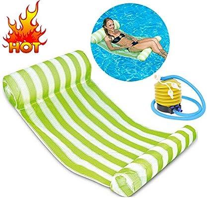 Tumbona hinchable flotante cama grande colchoneta flotante cama ...