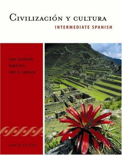 Civilizacion y cultura: Intermediate Spanish Series (World Languages)