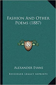 Fashion and Other Poems (1887)