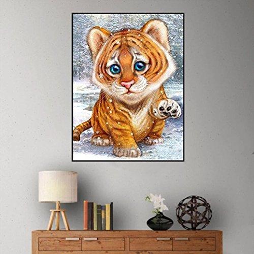 Pandaie -Kawaii Tigger-5D Diamond Painting Kits Diy Amazon Kit Cross Stitch Michaels 3D Art Paint Hobby Decor Wall Room Stickers & Murals Bedroom