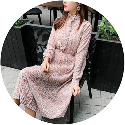 42ca1332d3837a Women A-line Dress 2019 Vintage Printing Party Long Sleeve Women Spring  Dress